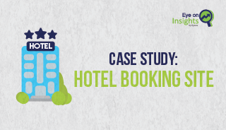 Eyeota Hotel Booking Case Study Site