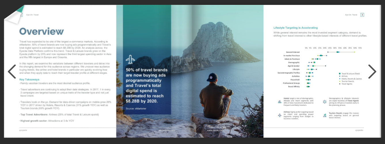 GlobalTravel Flipbook Screenshot