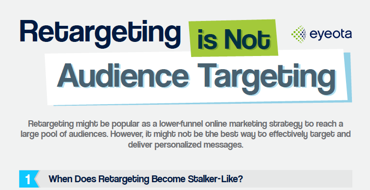 Retargeting Is Not Audience Targeting
