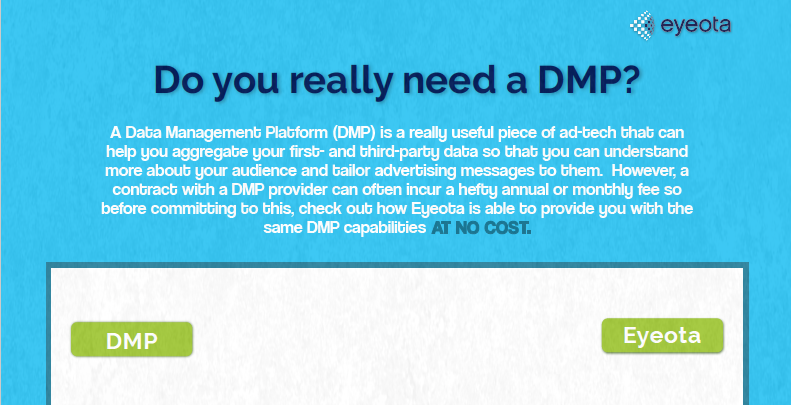 Do You Really Need a DMP?