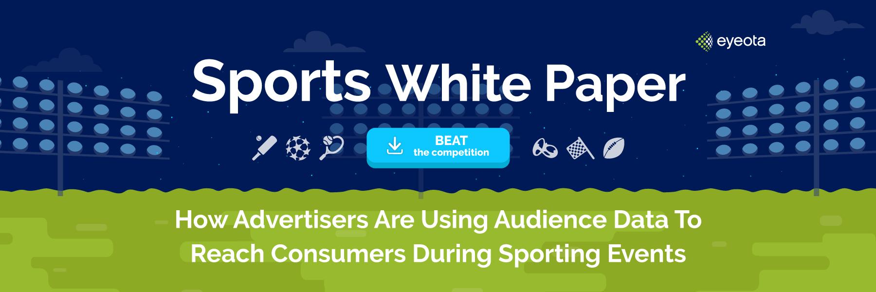 Eyeota Sports White Paper