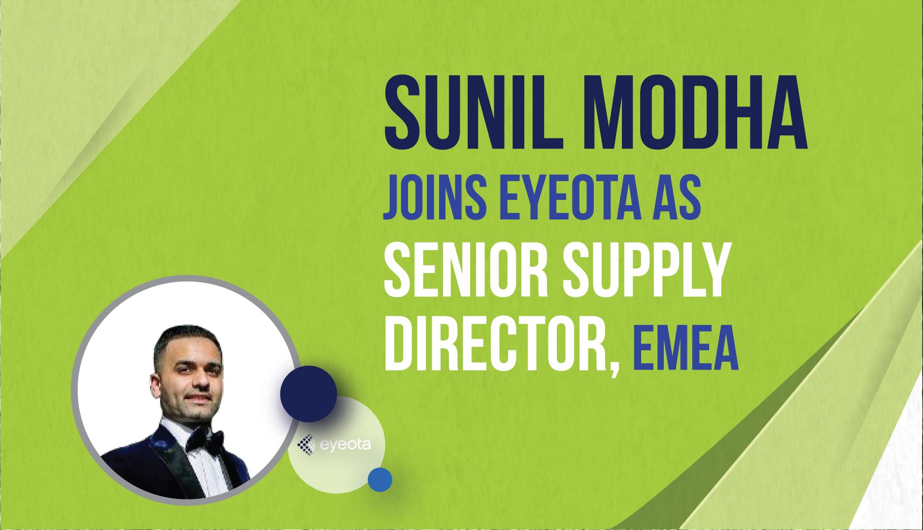 Sunil Modha Joins Eyeota as Senior Supply Director, EMEA