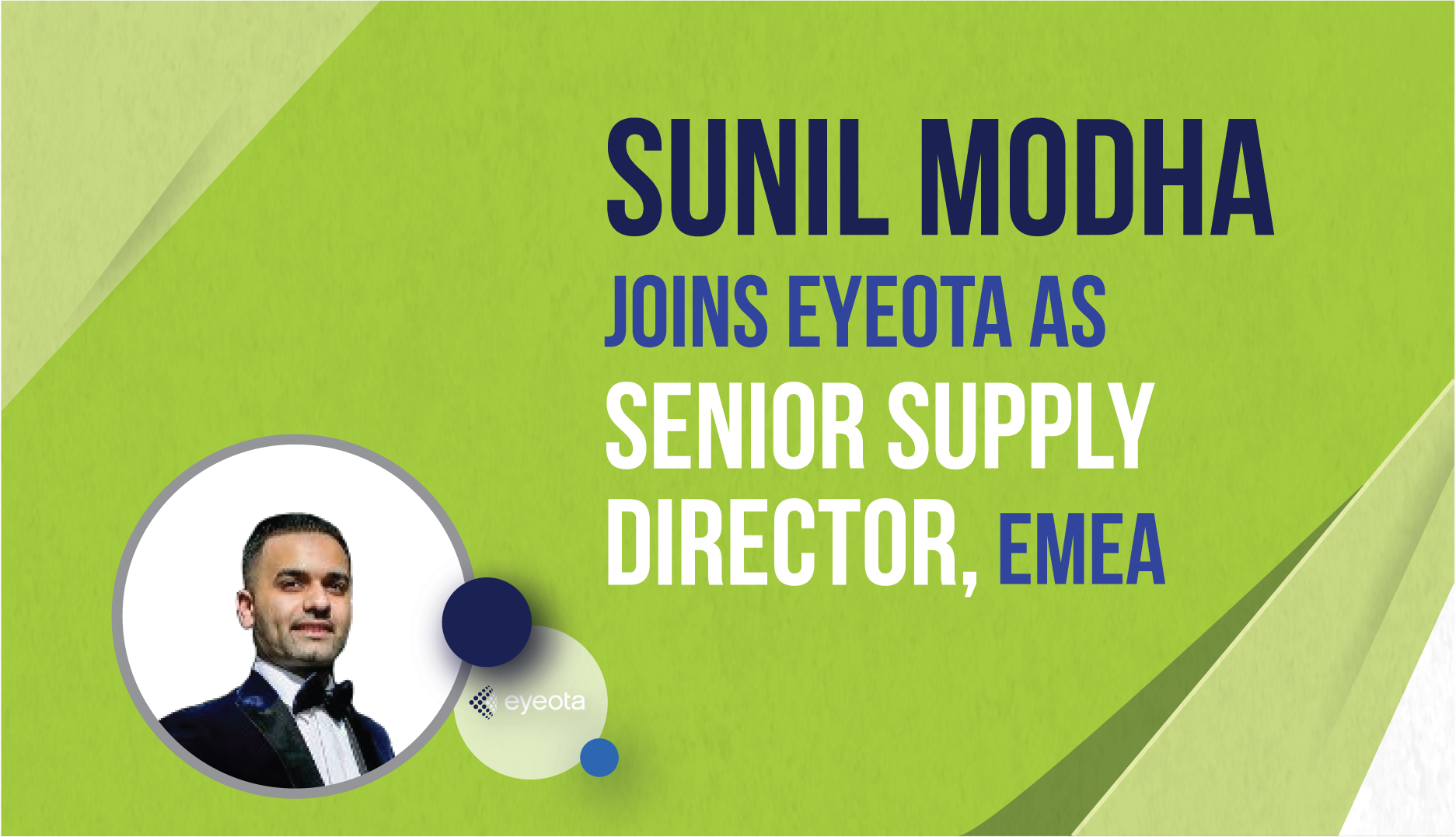 Sunil Modha Joins Eyeota as Senior Supply Director, EMEA