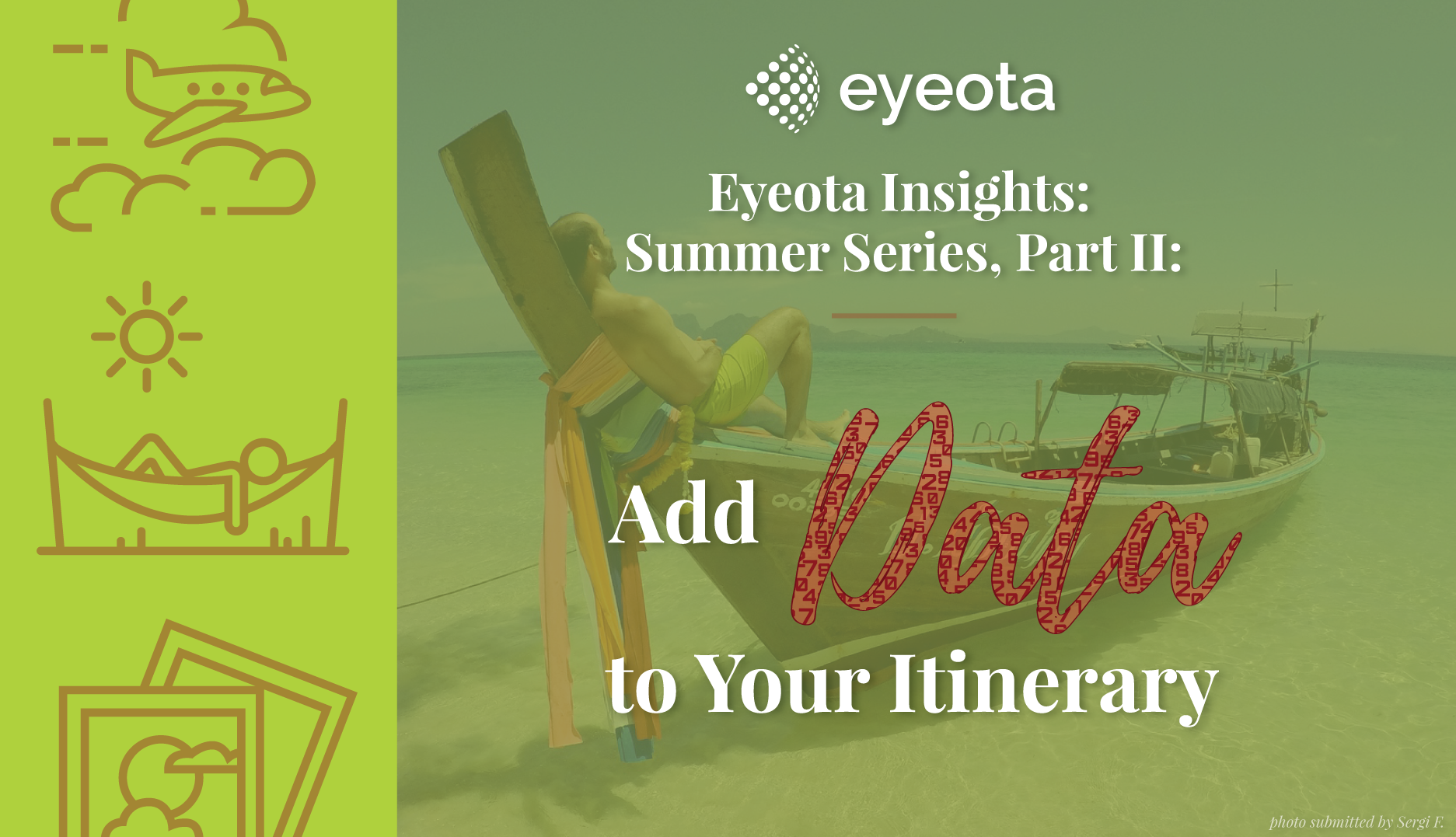 Eyeota Insights: Summer Series, Part II: Add Data to Your Itinerary