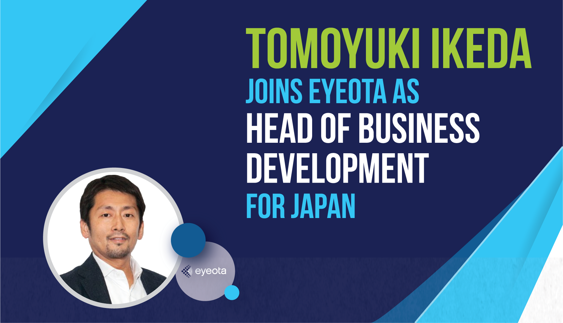 Tomoyuki Ikeda Joins Eyeota as Head of Business Development for Japan