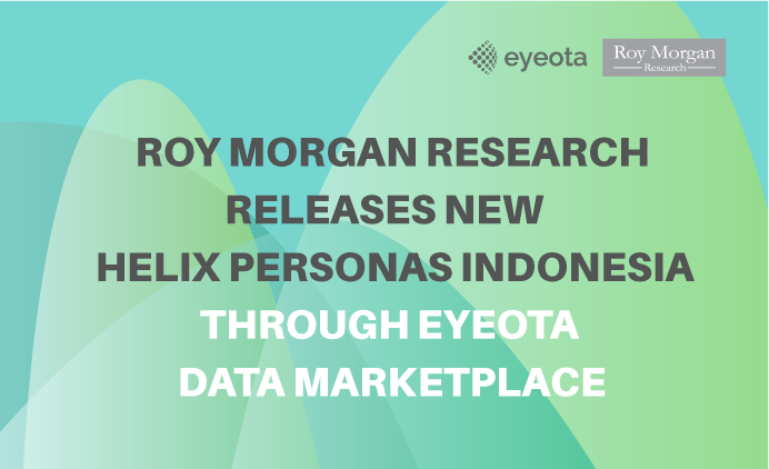 Roy Morgan Research Releases New Helix Personas Indonesia through Eyeota Data Marketplace
