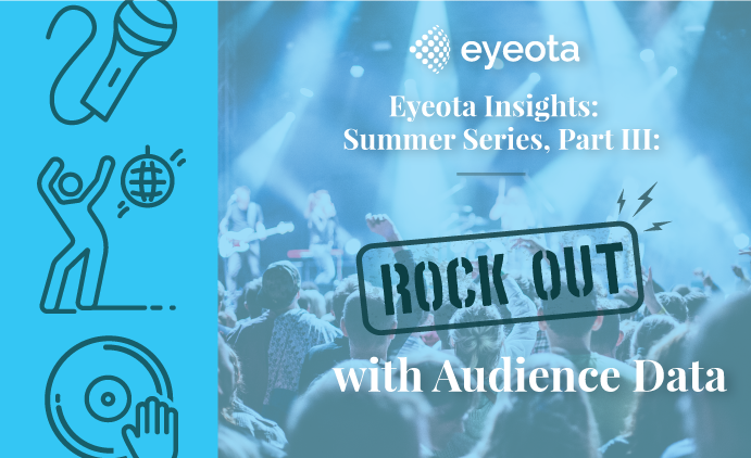 Eyeota Insights: Summer Series, Part III: Rock Out with Audience Data