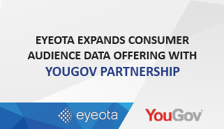 Eyeota Expands Consumer Audience Data Offering with YouGov Partnership