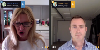 MediaScope's Live Friday Chat with Trent Lloyd from Eyeota